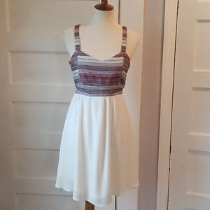 Maurices Textured Backless Dress, Size 7/8